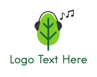 Stereo - Musical Tree logo design