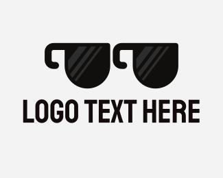 View - Mug Glasses logo design