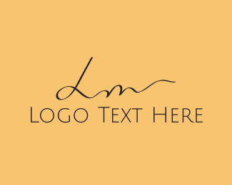 Showroom - L & M logo design