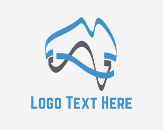 Australia - Modern Australia logo design