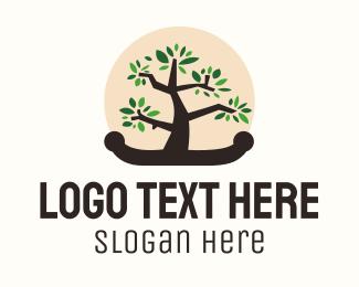 Asian - Bonsai Tree logo design