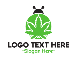 Edibles - Cannabis Bug logo design