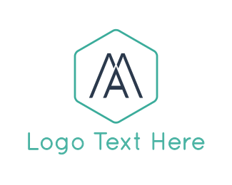 Pharmacy - Modern Letter A logo design