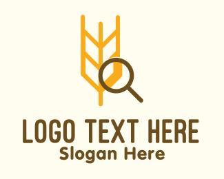 Magnify - Wheat Research logo design