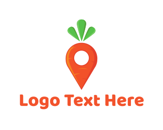 Point - Carrot Locator logo design
