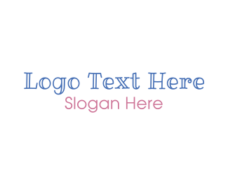 Baby - Friendly  & Edgy logo design