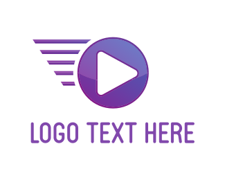 Video Player - Fast Media logo design