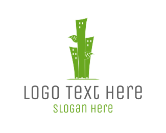 Bamboo - Urban Trees logo design