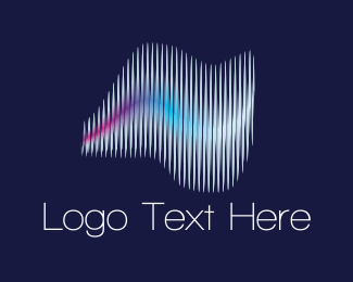 Stereo - Sound Waves logo design