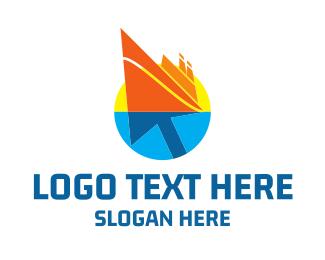 Holiday - Click Cruise logo design