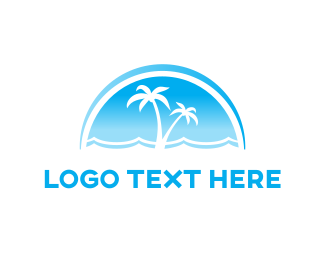 Aegean - Blue Sea logo design