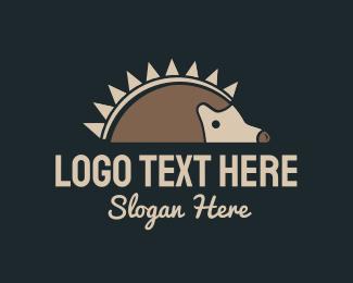Sustainable - Porcupine Food logo design