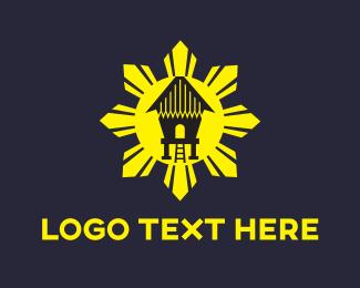 Bamboo - Sun House logo design