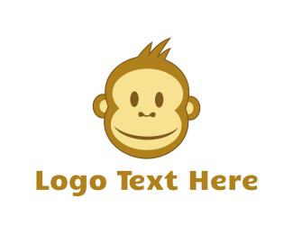 Smiling - Smiling Monkey logo design