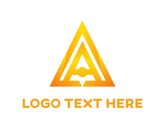 Professional - Golden Pyramid logo design