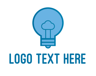 Innovation - Cloud Idea  logo design