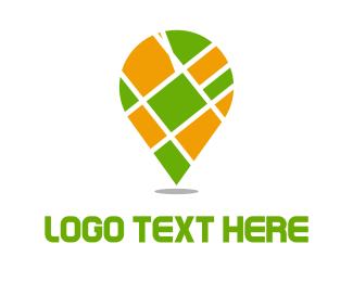 Taxi - Street Map logo design