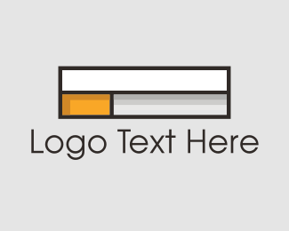 Ecig - Cigarette Box logo design