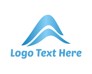 Beach - Blue Waves logo design