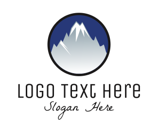 Everest - Mountain Alps logo design