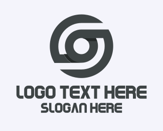 Connect - Modern Circle Blades logo design