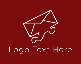 Postal - Mail Courier logo design