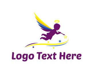 Angel Painter Logo