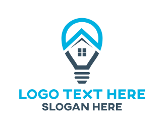 Interior Designer - Home Lighting logo design