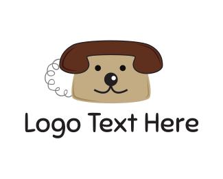 Phone - Dog Phone logo design
