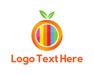 Channel - Orange Television logo design
