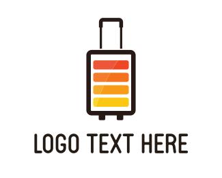 Battery - Electric Travel logo design