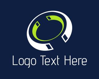 Magnet - Tech Rings logo design