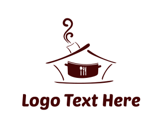 Smoke - Restaurant Pot logo design