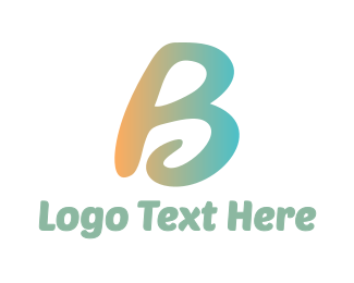 Curly - Curly B  logo design