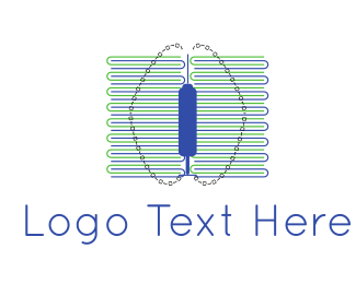 Artificial Intelligence - Brain Code logo design