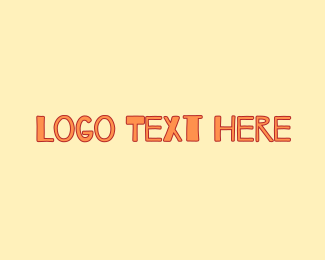 Preschooler - Peach & Childish logo design
