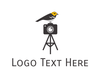 Hobby - Gray Bird Photography logo design