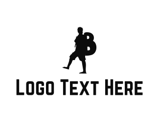 Hike - Backpacker B logo design