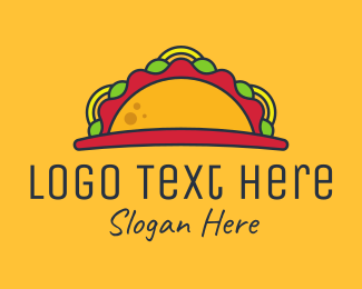 Mexican - Taco Sunrise logo design