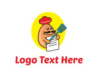 Ingredients - Egg Recipes logo design