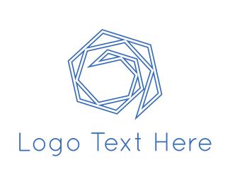 Maze - Blue Maze logo design