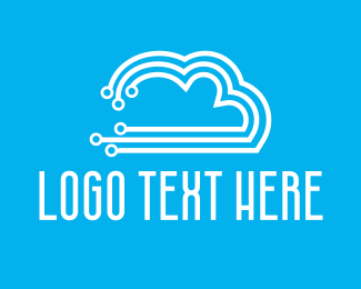 Hardware - Circuit Cloud logo design