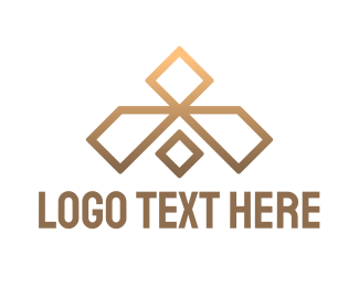 Accessory - Gold Luxury Diamond logo design