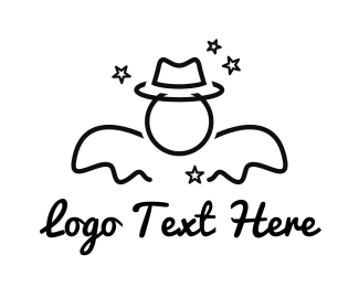 Hollywood - Cowboys & Angels logo design
