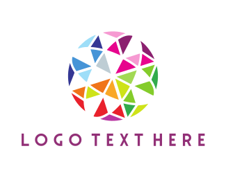 Kaleidoscope - Mosaic Circle logo design