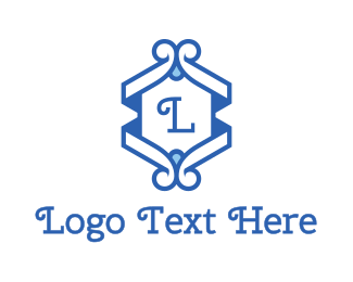 Classic Blue Emblem Logo