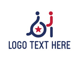 Physiotherapy - Disability Help logo design