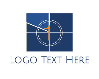 Director - Television 1 logo design