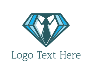 Shirt - Diamond Suit  logo design