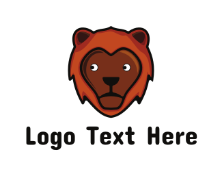 Childish - Friendly Lion logo design
